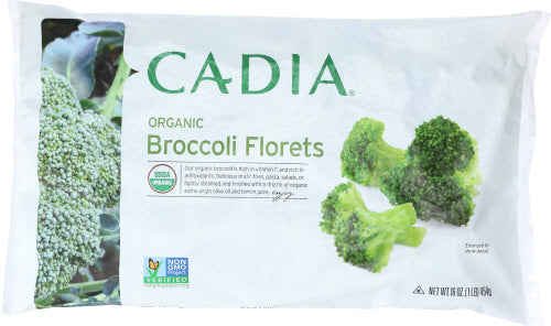 Cadia Broccoli Floretts Organic