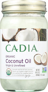 Cadia Virgin Coconut Oil Unrefined