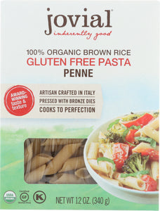 Organic Penne Brown Rice Pasta Jovia