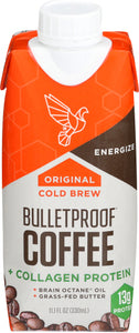 BulletProof Coffee Cold Brew Organic Collagen