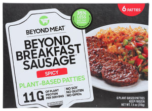Beyond Meat Sausage Patties Spicy 6 Pk