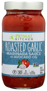 Primal Kitchen Roasted Garlic Marinara Sauce with Avocado Oil
