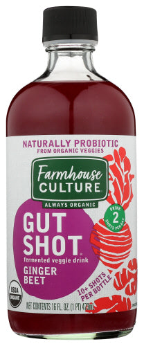 Gut Shot Ginger Beet Farmhouse Culture