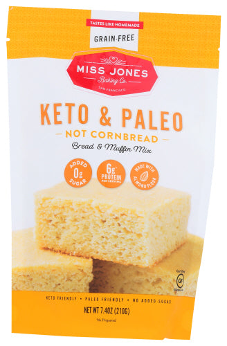 Miss Jones Keto and Paleo Cornbread
