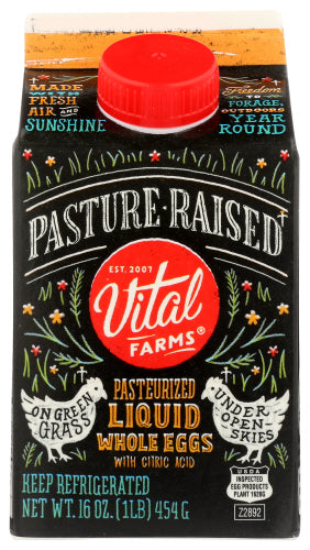 Vital Farms Pasturized Liquid Whole Eggs