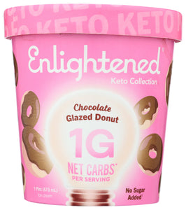 Glazed Donut Keto Ice Cream Enlightened