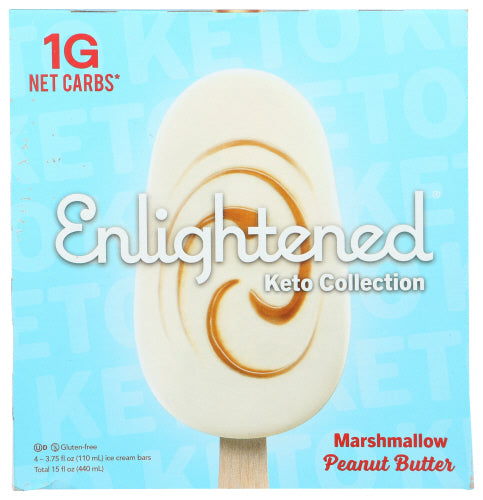 Marshmallow Peanut Butter Bar Enlightened