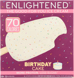 Birthday Cake Ice Cream Bar Enlightened