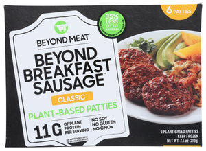 Beyond Meat Sausage Patties 6 Pk