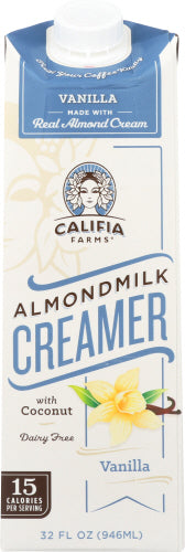 Califia Vanilla Creamer Almond Milk 32Oz