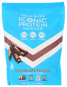 Iconic Protein Powder Chocolate 1 Lb