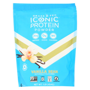 Iconic Protein Powder Vanilla 1 Lb