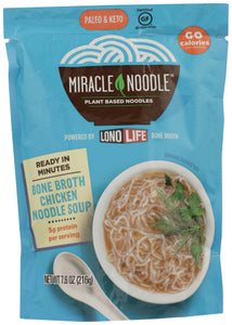Miracle Noodle Bone Broth Chicken Soup Ready to Eat