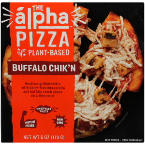 Alpha Foods Buffalo Chicken Pizza