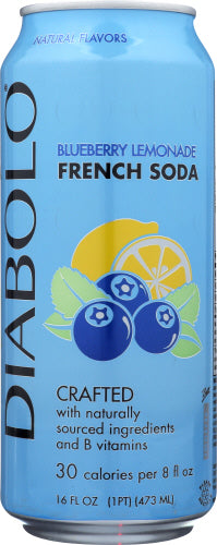 Diablo Blueberry Lemonade Soda