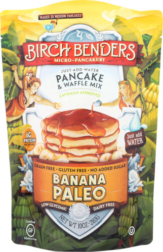 Banana Bread Mix Paleo Birch Benders