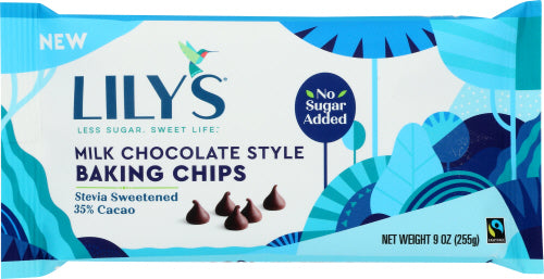 Lily's Sweets Milk Chocolate Baking Chips