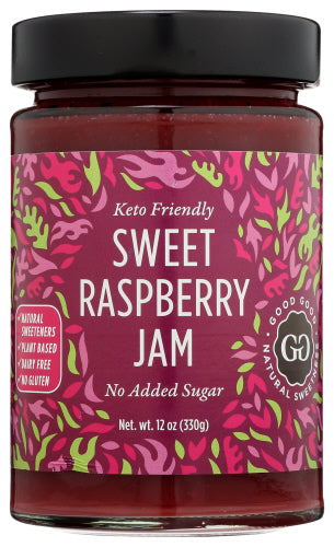 Good Good Sweet Raspberry Jam