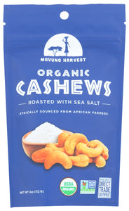 Roasted Cashews Sea Salt Mavuno Harvest