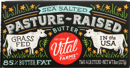 Vital Farms Salted Butter Grass Fed