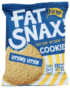 Fat Snax Lemon Cookie