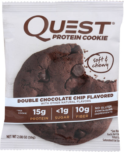 Double Chocolate Chip Quest Protein Cookie