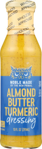Almond Butter Turmeric Noble Made by the New Primal