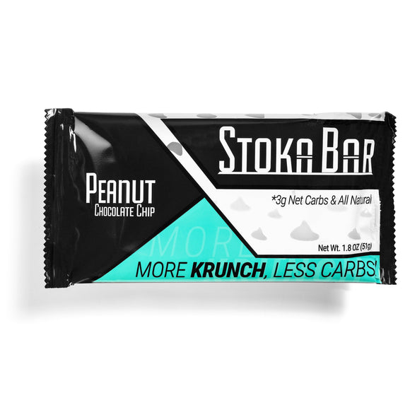 Stoka Peanut Chocolate Chip Bar