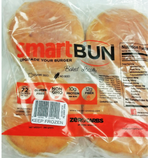 Smart Bun Hamburger Plain