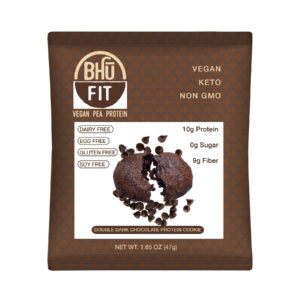 BHU Fit Double Chocolate Chocolate Chip Protein Cookie