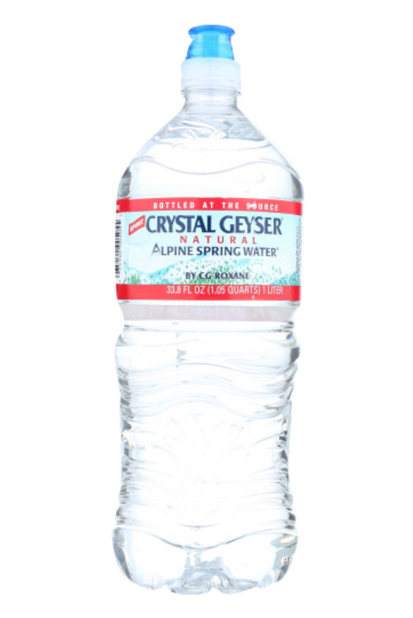 Crystal Geyser Spring Water 15 Pack 1 L