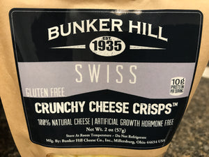 Bunker Hill Swiss Crunchy Cheese Crisp