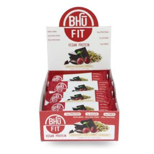 BHU Fit chooclatete tart Cherry pistachio