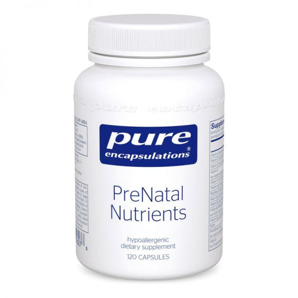 PreNatal Nutrients 60 Ct Pure Encapsulations