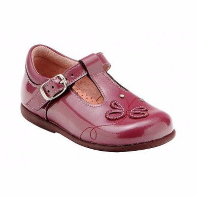 Pixie Dark Red Patent Leather