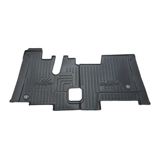 Black Kenworth Floor Mats Sleeper & Extended Day Cab Models