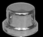 "Lifetime Nut Covers #123-NC 7/16"" and 12mm Top Hat Nut Cover"