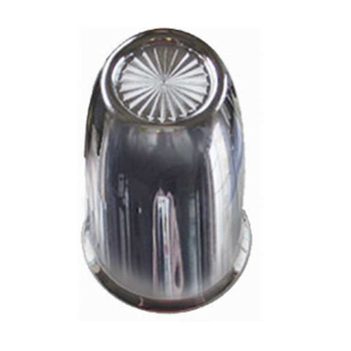 Chrome Plastic 30mm Vortex Frame Bolt Lug Nut Cover