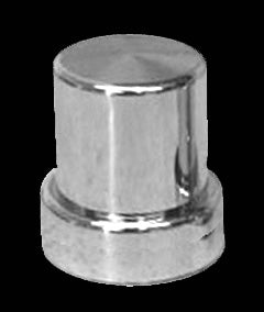 "Lifetime Nut Covers 1 1/16"" Top Hat Lug Nut Cover"