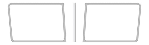 1988+ Peterbilt Windshield Trim Kit
