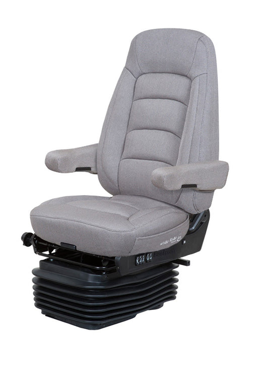 Wide Ride+Serta (Lo-Pro Air Suspension, Bellows, Hi-Back, Dual Armrests)