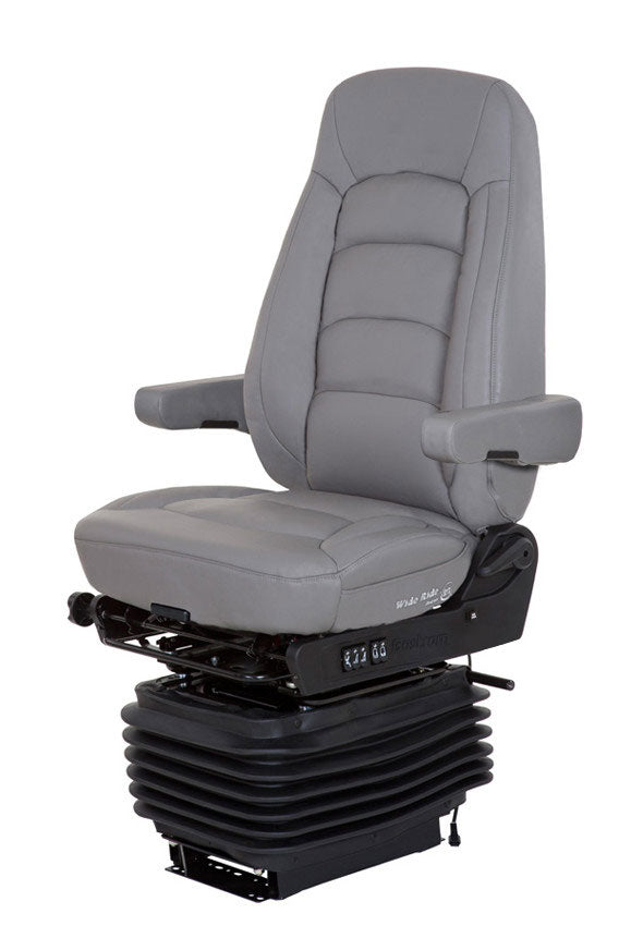 Wide Ride+Serta (Hi-Pro Air Suspension, Bellows, Hi-Back, Dual Armrests)