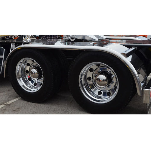 Bells-And-Whistles-Chrome-Shop-Trucks-Aftermarket-Accessories-Fenders-Hogebuilt-Drop-Full-Tandem-Fender-430-Stainless-Steel-Kenworth-Freightliner-Mack-Volvo-Lonestar