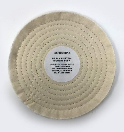 "8"" Cotton Muslin Buff 60-Ply"