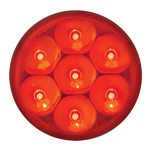 "2""  Pearl LED Marker Light- Red"