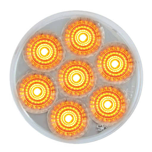 "2-1/2"" Spyder LED Marker Light - Clear/Amber"