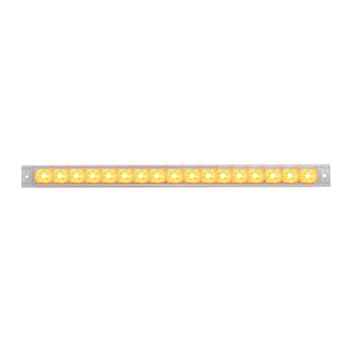 "20"" Spyder LED Light Bar- Clear/Amber"