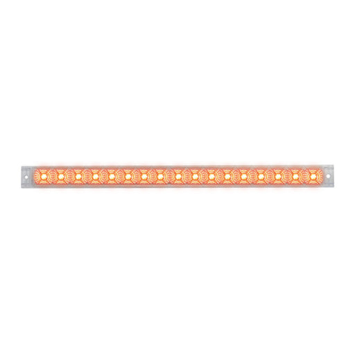 "20"" Spyder LED Light Bar- Clear/Red"