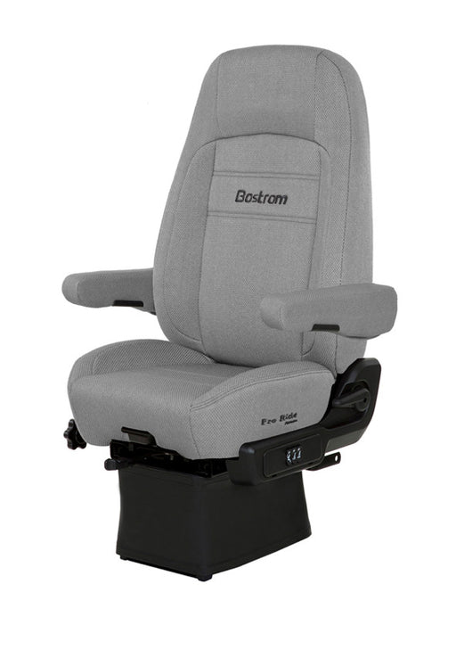Pro Ride (LO-PRO 910 AIR SUSPENSION, DRAPE, HI-BACK, AIR LUMBAR, DUAL ARMRESTS, GRAY ENDURA CLOTH)