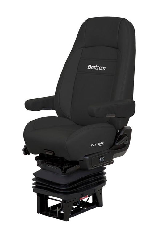Pro Ride (HI-PRO 915 AIR SUSPENSION, BELLOWS, HI-BACK, AIR LUMBAR, DUAL ARMRESTS, BLACK ULTRA-LEATHER)